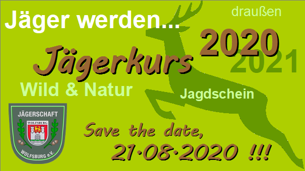 Banner JJ Kurs 2020 Save the date